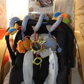 Автокресло автолюлька переноска Mothercare Spin 0-13кг +2 подарка!