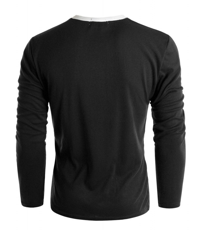 Пуловер с карманом фото №2