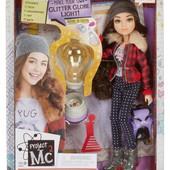 Experiments with dolls- McKeyla's glitter light bulb кукла Кейла project Mc2 с экспериментом
