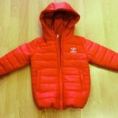 курточка деми Adidas р 104-140