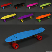 Пенни борд, скейт, скейтборд, полиуретановые колеса! Penny board