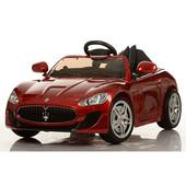 Детский электромобиль Bambi Maserati Красный (M 3285eblrs-3) со свето-звуковыми эффектами