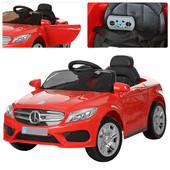 Детский электромобиль Bambi Mercedes Benz Красный (M 2772ebr-3) с пенополиуретановыми колесами
