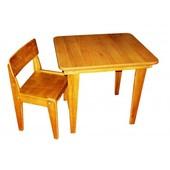 Стол и стул детские.