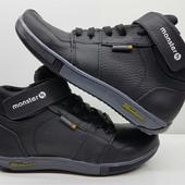 СП Кожанные подростковые ботинки.р.32-39 Черные.СиниеОчень класные!