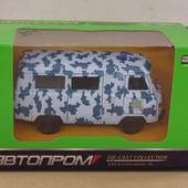 Машина модель Автопром 6402