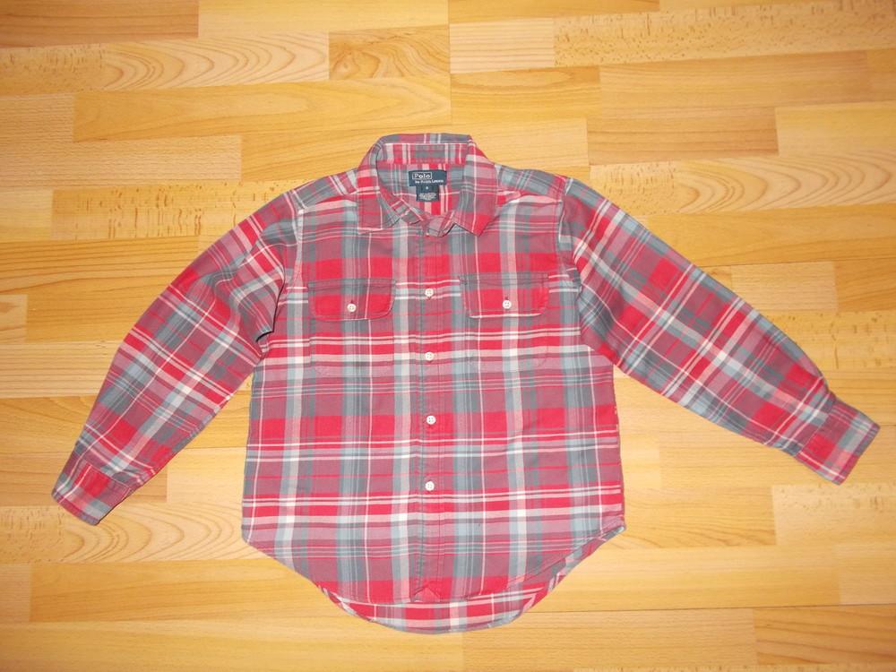 Рубашка з довгим рукавом розмір 122 см. фото №1