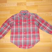 Рубашка з довгим рукавом розмір 122 см.