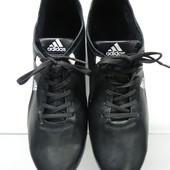 Кожаные кроссовки адидас 40р