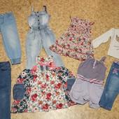 Распродажа!! Пакет одежды на девочку 5-6 лет, 110-116см рост