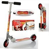 Детский двухколесный самокат для мальчика! Большие колеса!