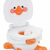 Fisher-Price Музыкальный горшок Веселый утенок 3 в 1 ducky fun 3-in-1 potty