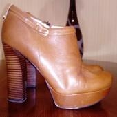 Ботинки Guess 37 кожа, стелька 24,5