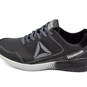 Кроссовки Reebok zprint 3D black gray (реплика)