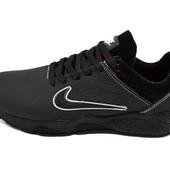 Подростковые кроссовки Nike Air 40 black (реплика)