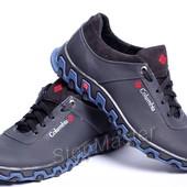 Кроссовки кожаные Columbia Blue Track
