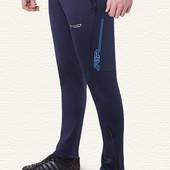 Зауженные спортивные штаны из элластана 17251