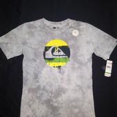Классная футболка quiksilver