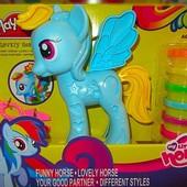 Тесто для лепки Play-Toy набор пони my little pony