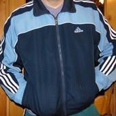 Спортивная  фирменная оригинал мастерка кофта Adidas (Адидас).л-хл.