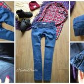 Плотные джинсы для беременных,р-р М-Л