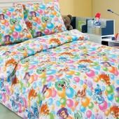 Комплект детского постельного белья Праздник, поплин