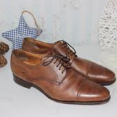 44 31см Fred Finlay Мужские кожаные туфли оксфорды