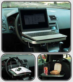 Столик-подставка в автомобиль,автомобильный столик д\ноутбука на руль фото №1