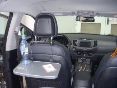 Столик-подставка в автомобиль,автомобильный столик д\ноутбука на руль фото №2