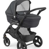 Универсальная коляска CAM Dinamico up smart - рама, люлька, прогулочный блок, автокресло, чехол дня