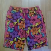 Яркие шорты для пляжа 10-11 лет