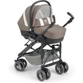 Универсальная коляска CAM Combi Tris - прогулка, люлька, автокресло, дождевик, чехол на ножки, сумка