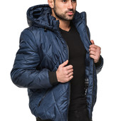 Мужская демисезонная куртка с капюшоном Разные цвета весна осень