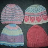 фирменные шапки на 2-4 года