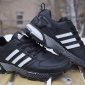 Мужские кроссовки Adidas Адидас натуральная кожа