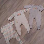 Человечки Mothercare 6-9 мес 3+1 в подарок!