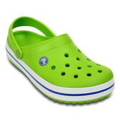 Crocs Volt Green & varsity blue crocband clog оригинал кроксы Мексика
