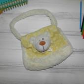 Детская сумка сумочка плюшевая