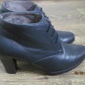 Шикарные фирменные ботинки Gabor р.4 Германия
