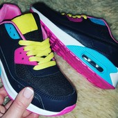 Мега крутые кроссовки в стиле Nike Air Max в наличии