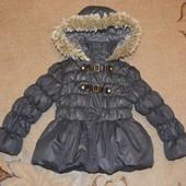 Куртка  еврозима Next р. 3-4 года 104 см