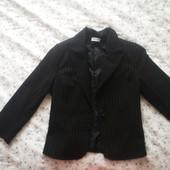 Pimkie черный пиджак для девочки в школу