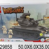 "Конструктор ""World of tanks"" 424 деталь."