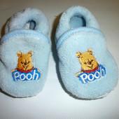 Пинетки-тапочки pooh, Disney. р.20-21. по стельке 12,5см