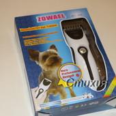 Машинка для стрижки животных Zowael аккумуляторная