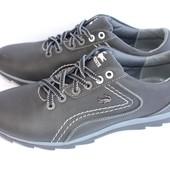 Новинка! Классные кожаные мужские кроссовки, 2 цвета