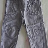 продам брюки девочке 3-4 года рост 104 H&M