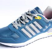 Кроссовки мужские Adidas light blue (реплика)