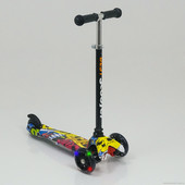 Самокат Best scooter Mini Print, бэст скутер принт, низкая цена Киев, доставка по Украине