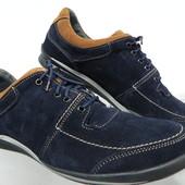 Замшевые кроссовки 41,43